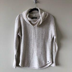 Eddie Bauer Oatmeal Sleepwear Cowl Neck Sweater